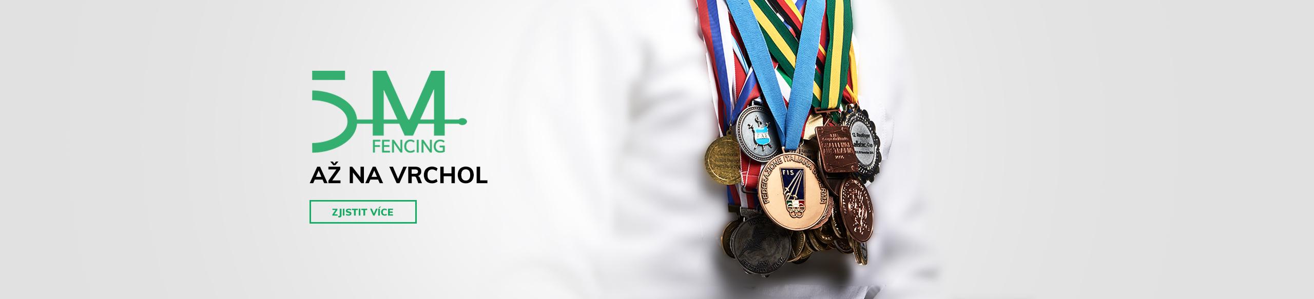 Až na vrchol s 5MFENCING , kvalita a tradice v obchodu se šermířským vybavením