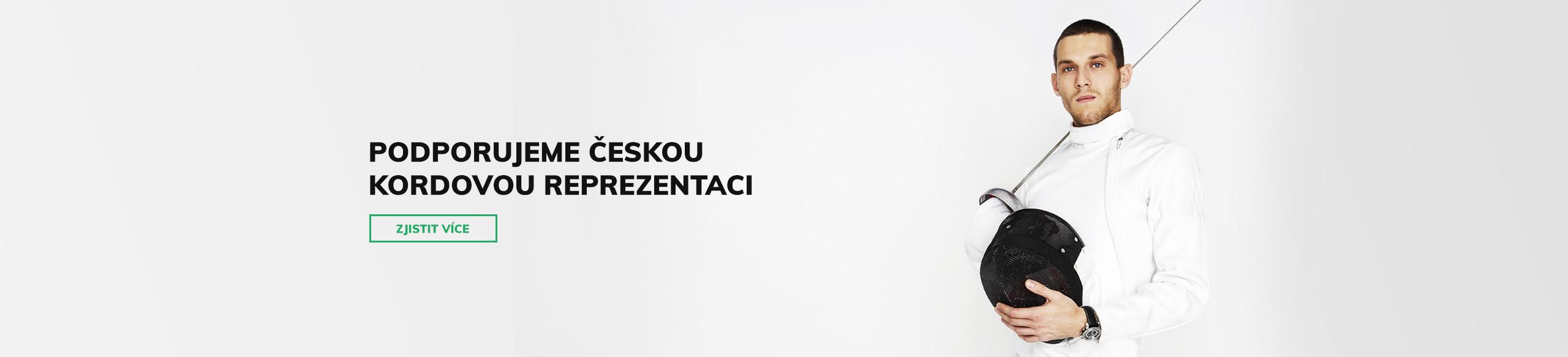 Podporujeme českou kordovou reprezentaci