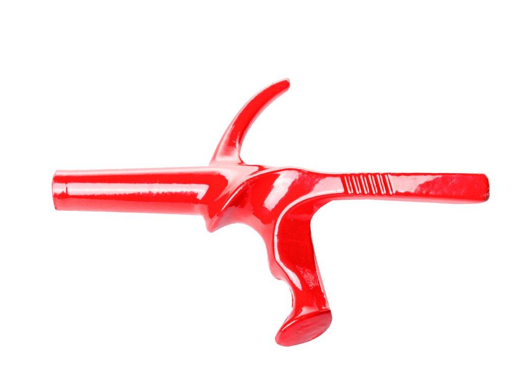 Lakovaná fleretová pistolová ručka 5M Visconti (Barva levé, Velikost S)