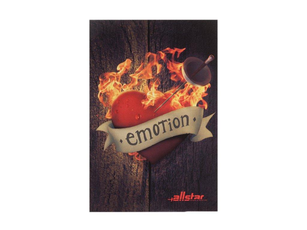1851 emotion samolepka