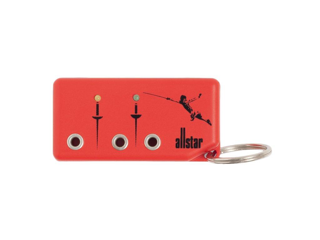 1998 zkousecka cervena allstar kapesni klicenka
