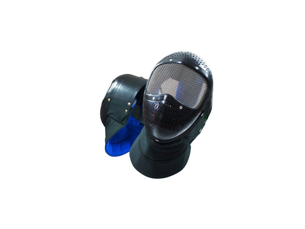 3785 nasym03 1nn plastova maska cerna pro zacatecniky pouzivat pouze s fleretem pf