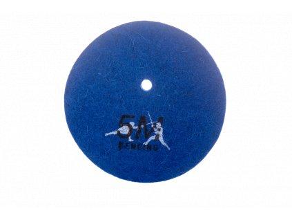 Kordová podložka competition 5M, filc (Barva modrá)