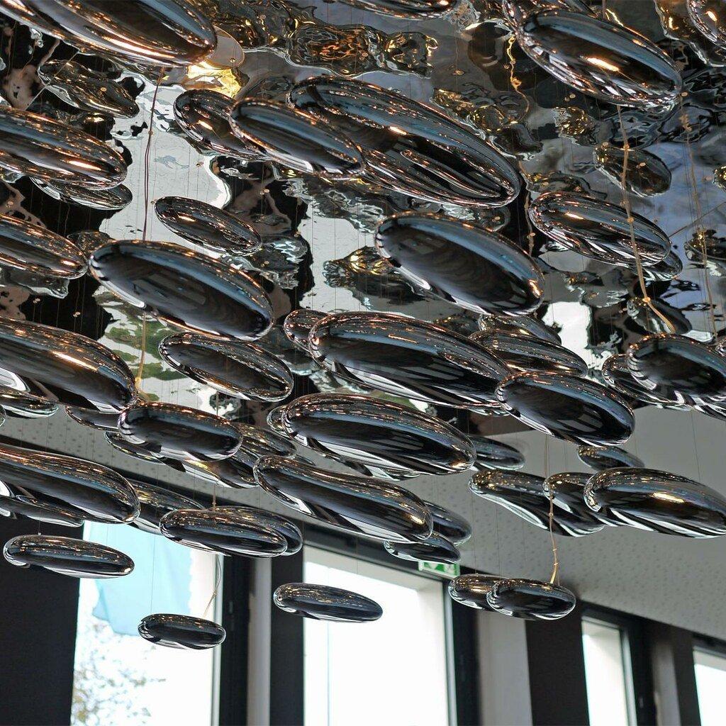 Artemide Mercury sospensione LED, závěsné designové svítidlo, 2x31W LED, prům. 110cm