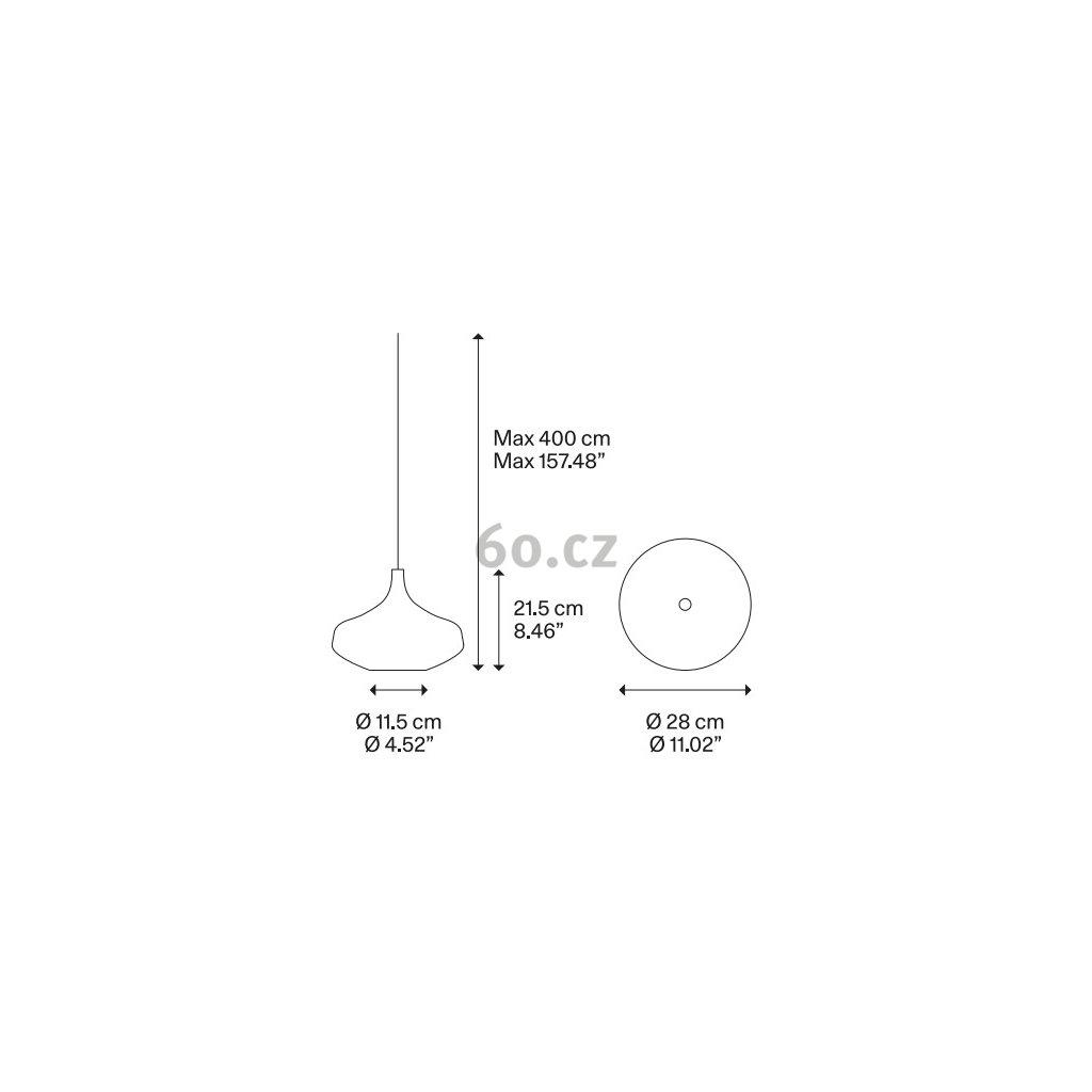 40305 6 studio italia design nostalgia large gold zaves z pozlaceneho skla 9w led 2700k prum 28cm