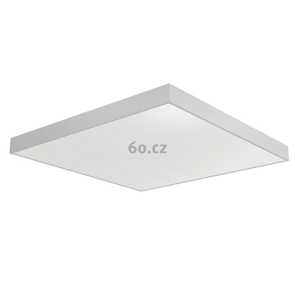 Arelux Xpill Square, bílé stropní svítidlo, 80W LED 3000K, 80x80cm