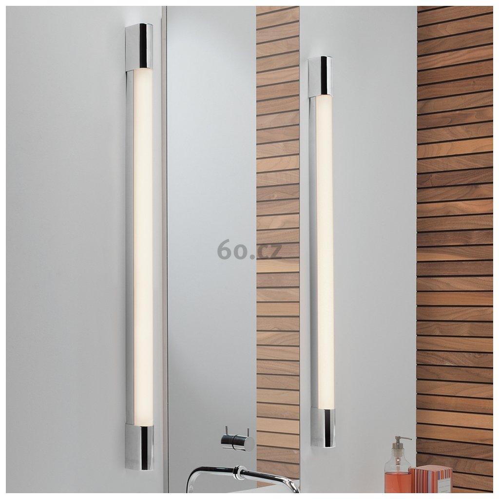 Astro Lighting Palermo 1200 LED, oválné koupelnové svítidlo, 15W LED 3000K, chrom, délka 120cm, IP44