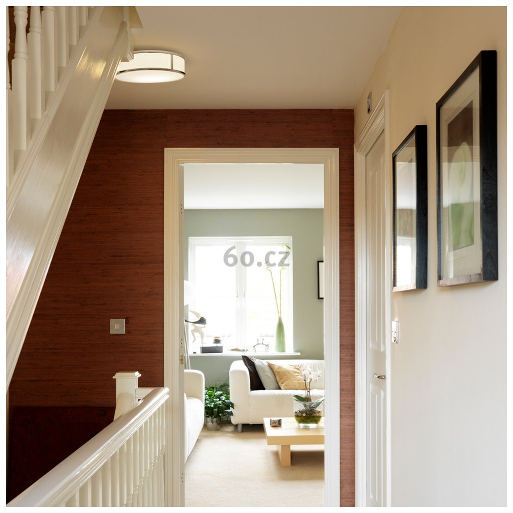Astro Lighting Mashiko 400 Round, stropní svítidlo do koupelny, 3x42W E27, chrom, prům. 40cm, IP44