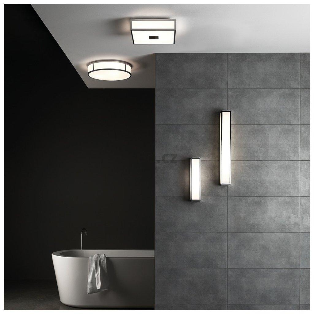 Astro Lighting Mashiko 360, nástěnné svítidlo do koupelny, 2x40W E14, matná zlatá, 36cm, IP44