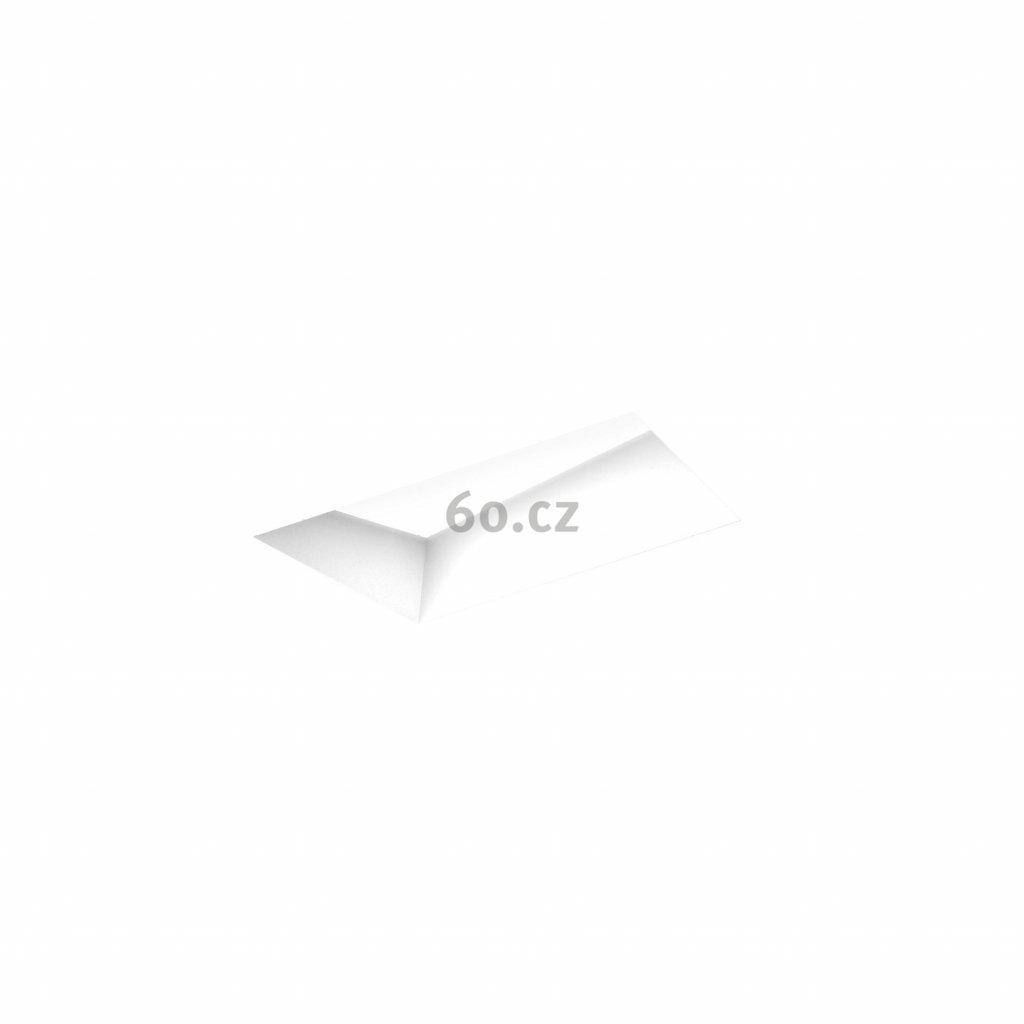 53175 3 xal trapez 200 trimless polygonalni zapustne svitidlo bez ramecku 14w led 3000k stmivatelne dali 30x30cm