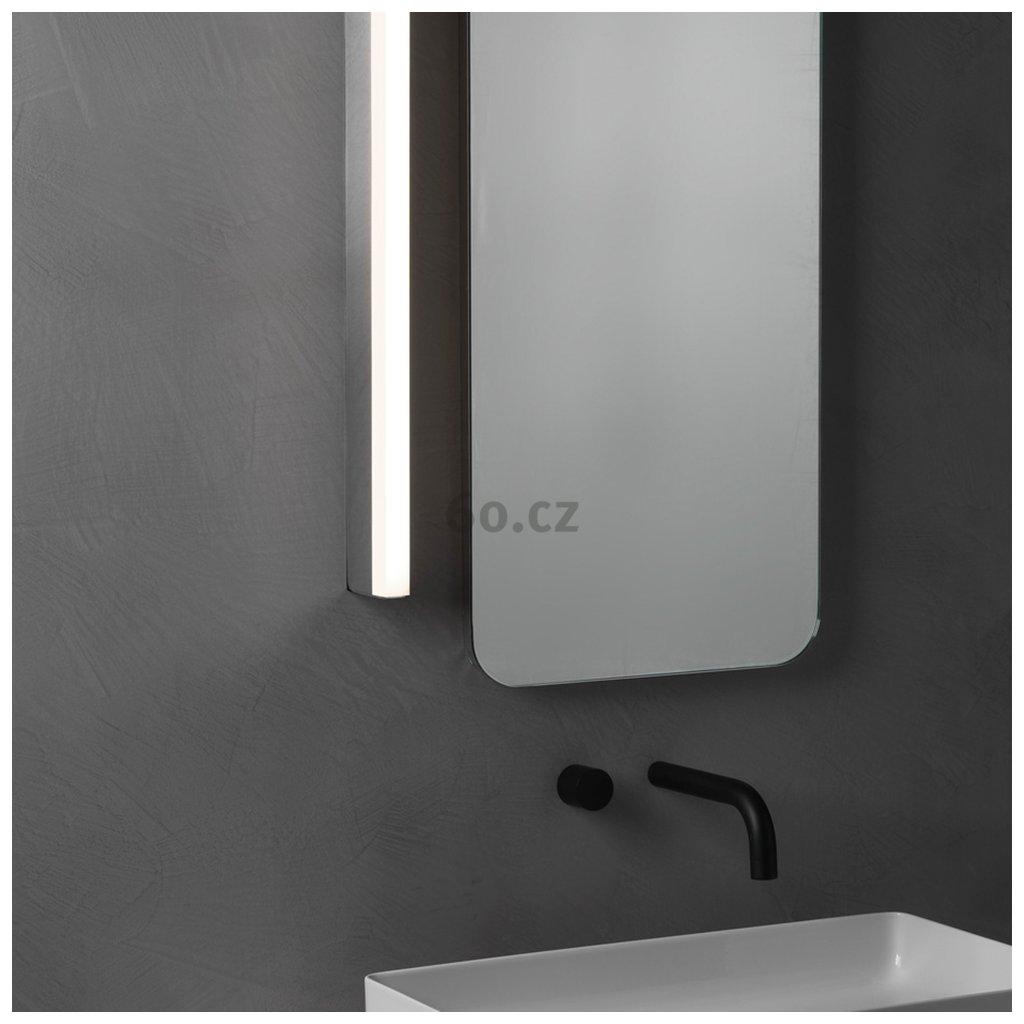 5334 astro lighting sparta 600 led nastenne svitidlo k zrcadlu do koupelny 11 5w led 3000k chrom delka 60cm ip44