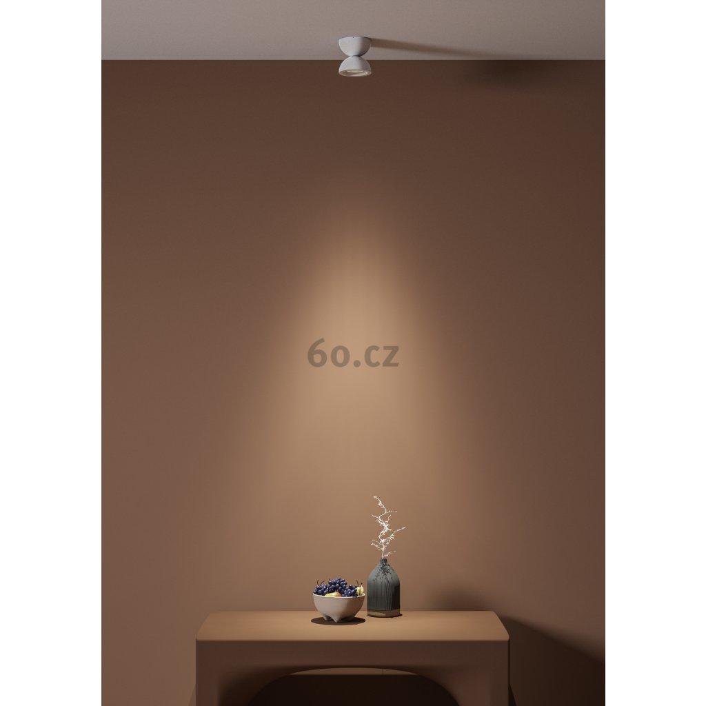 Axolight Dodot, bílé designové svítidlo, 17,5W LED 2700K 15° stmívatelný, prům. 12,4cm