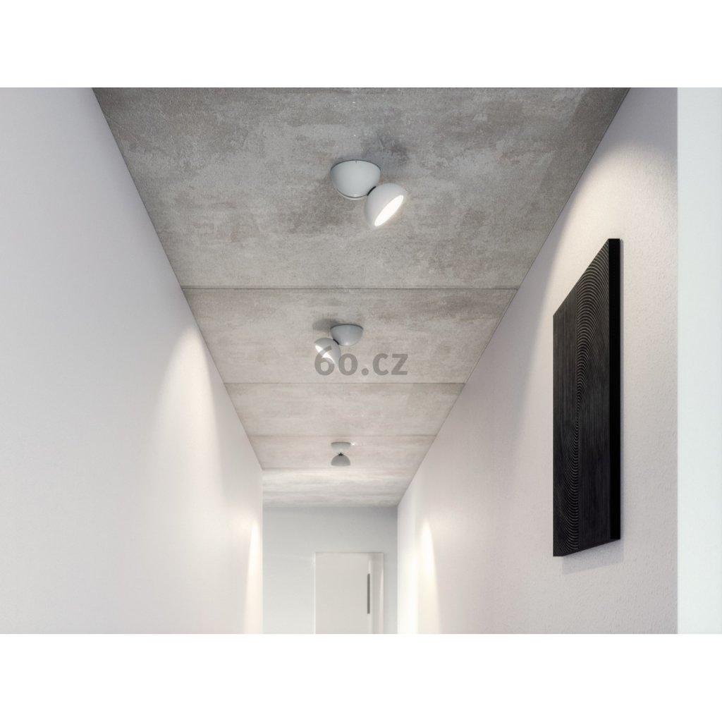 Axolight Dodot, černé designové svítidlo, 17,5W LED 2700K 48° stmívatelný, prům. 12,4cm