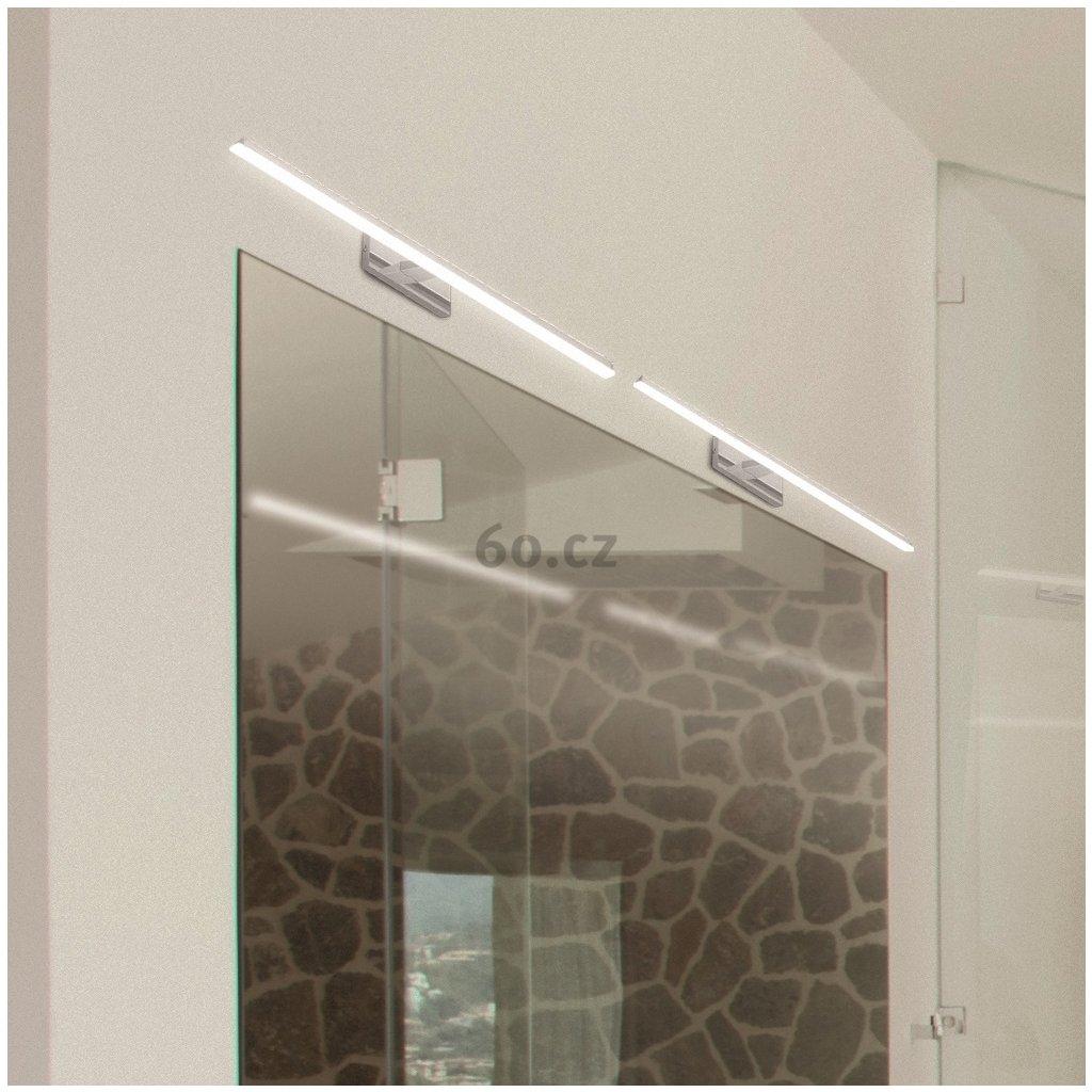 Mantra Morne, nástěnné svítidlo nad zrcadlo, černá, LED 12W 1080lm 4000K, šířka 45cm, IP44
