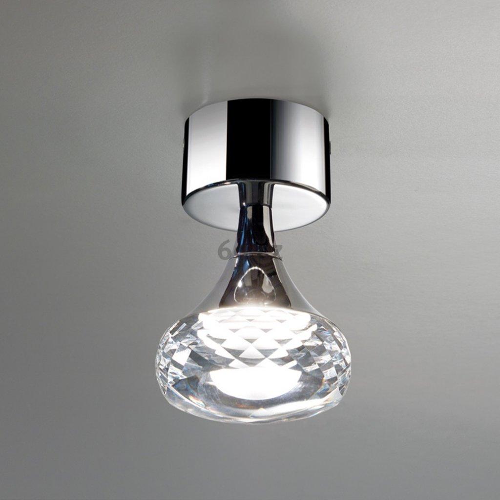 Axolight Fairy, designové stropní svítidlo, 1x6,6W LED, křištálové sklo, výška 14cm