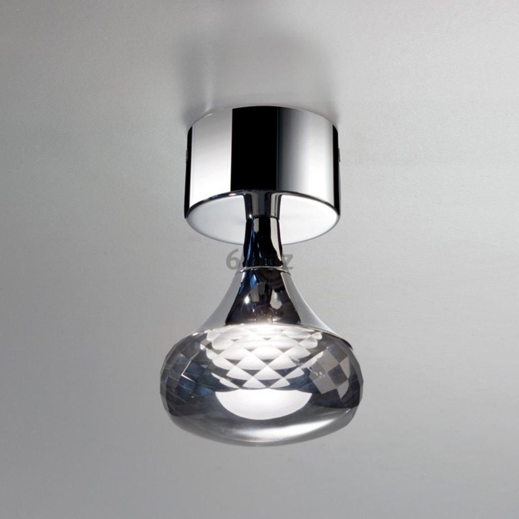 Axolight Fairy, designové stropní svítidlo, 1x6,6W LED, kouřové sklo, výška 14cm