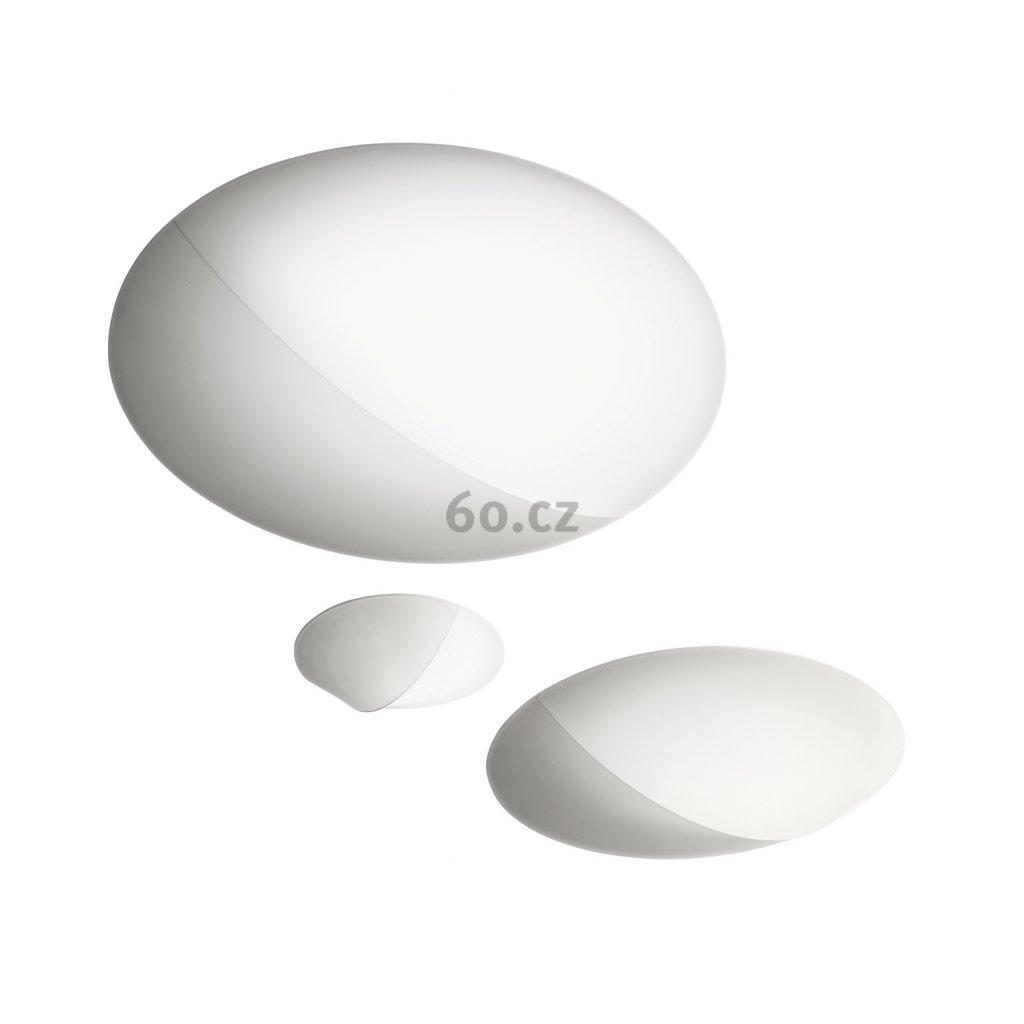 Axolight Nelly, designové svítidlo z bílého textilu, 4x70W, průměr 140cm