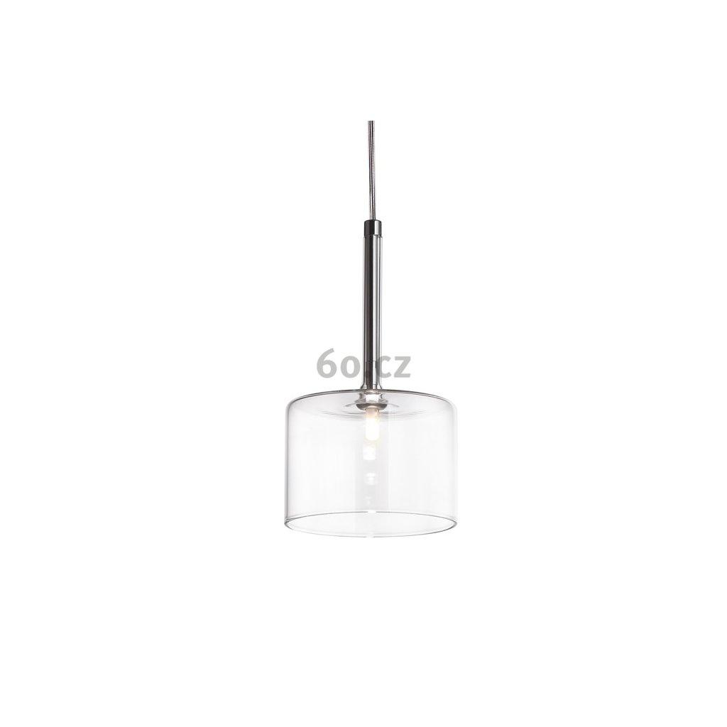 6387 7 axolight spillray g zavesne svitidlo z kristaloveho skla led 1 5w g4 prum 14cm