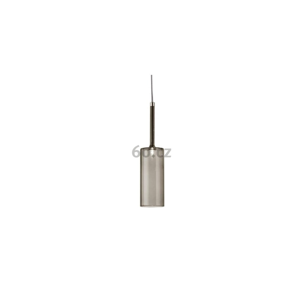 6456 7 axolight spillray pi zavesne svitidlo z sedeho kouroveho skla led 1 5w g4 prum 8cm zapustena montaz