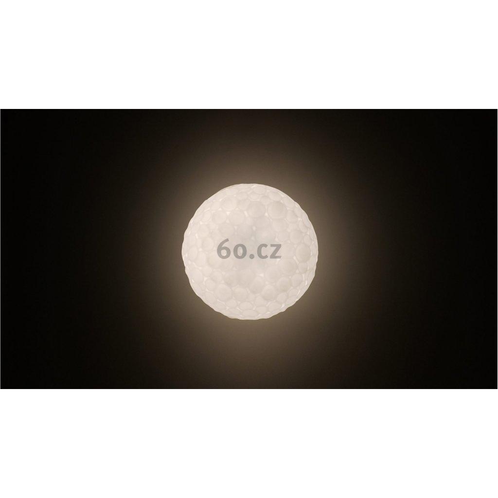 Artemide Meteorite suspension 35, závěsné designové svítidlo z foukaného skla, 1x150W E27, prům. 35cm