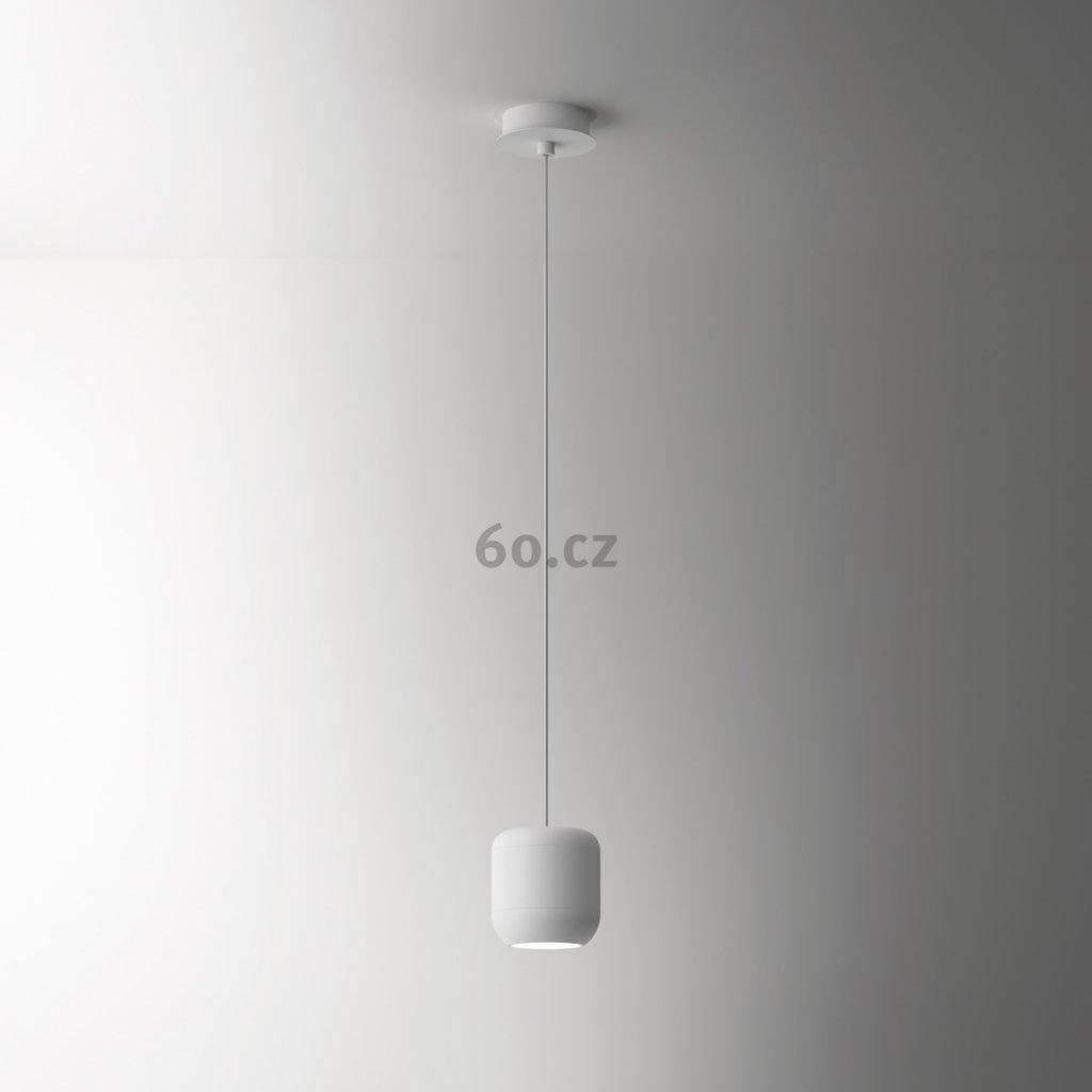 Axolight Urban P, bílé závěsné svítidlo, 15W LED 3000K stmívatelné, výška 16cm