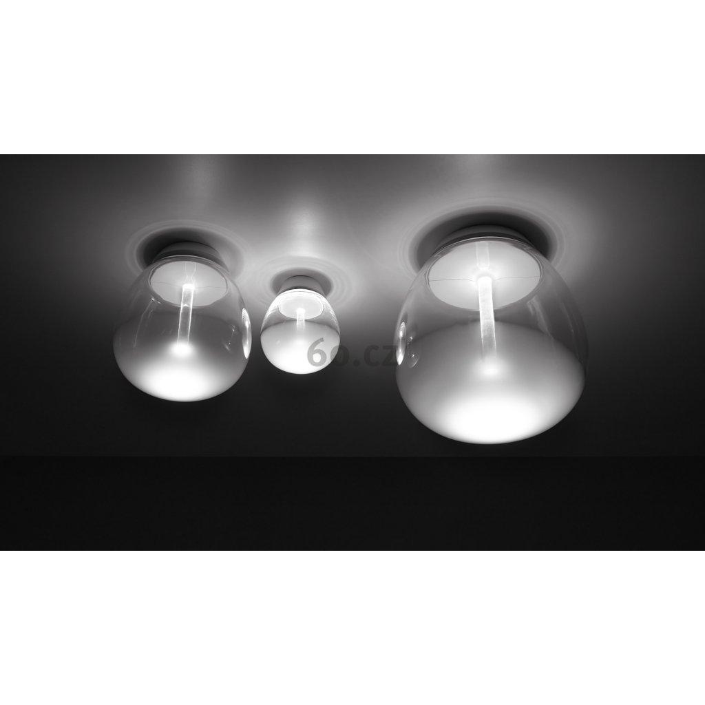 Artemide Empatia 16, designové stropní svítidlo, 12W LED 3000K, prům. 16cm