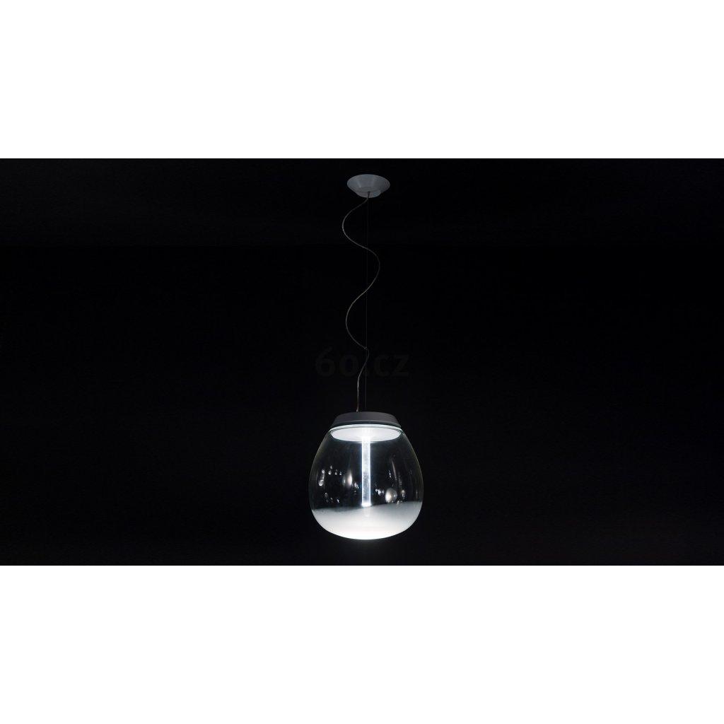 Artemide Empatia 16, designové závěsné svítidlo, 12W LED 3000K, prům. 16cm