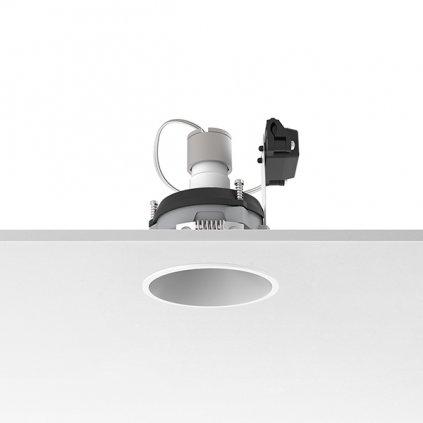 Flos Easy Kap 80 Round Adjustable, bílá bodovka, 1x max50W PAR16, prům. 8cm