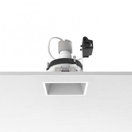 Flos Easy Kap 80 Square Adjustable, bílá bodovka, 1x max50W PAR16, 8x8cm