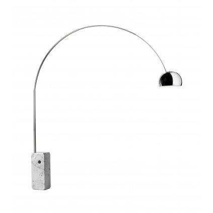 10965 2 flos arco designova stojaci lampa s vypinacem 1x70w e27 vyska 232cm