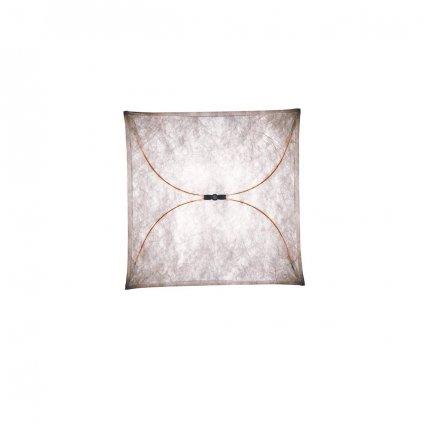 Flos Ariette 1, stropní svítidlo z textilu, 4x40W E27, 80x80cm