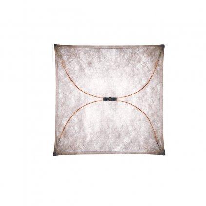Flos Ariette 2, stropní svítidlo z textilu, 4x40W E27, 100x100cm