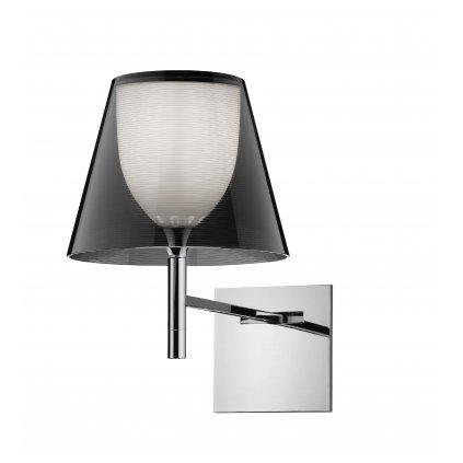 Flos KTribe W, designové nástěnné lampa se stmívačem, 1x70W E27, kouřová, výška 35cm