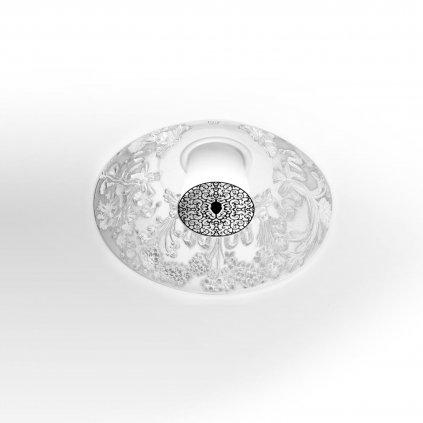 Flos Skygarden, zápustné svítidlo s vnitřním štukem, 1x33W G9, prům. 30cm
