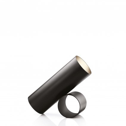 Flos Sawaru, černá minimalistická lampa se stmívačem, 45W LED 1800/4000K stmívatelná, délka 43cm