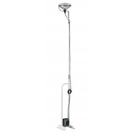 Flos Toio, bílá industriální lampa pro nepřímé osvětlení, 1x300W PAR56 MFL, výška až 195cm