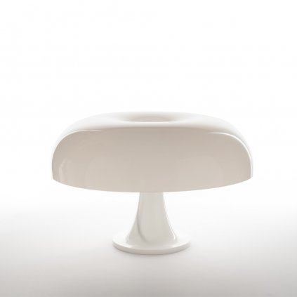 Artemide Nesso, bílá designová stolní lampa, 4x25W E14, výška 34cm