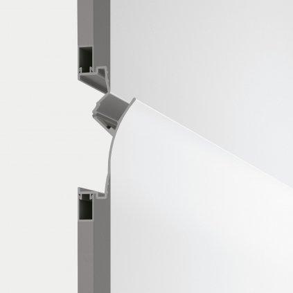 14811 3 iled fylo recessed 1 zapustny profil do steny pro led pas delka 100cm