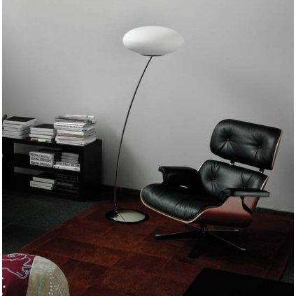 Lucis Karme, stojanová lampa 2x75W E27, 154cm