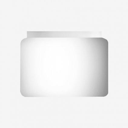 Lucis Capella, stropní svítidlo z bílého skla, 18,3W LED 4000K stmívatelné DALI, prům. 28cm