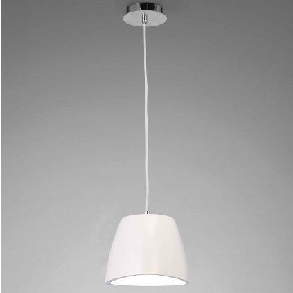 Mantra 4823 Triangle, bílé závěsné svítidlo, 1x13W, průměr 22cm