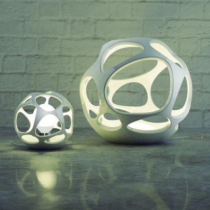 Mantra 5147 Organica, organická stolní lampa, 1x20W LED E27, prům. 27cm