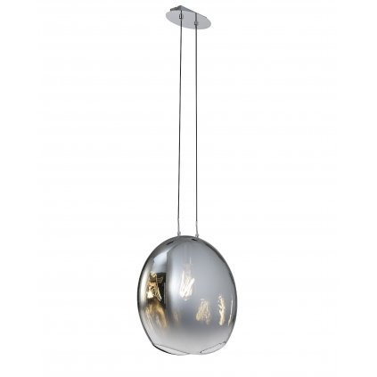 Mantra Lens large závěsné svítidlo z grafitového skla,1x40W E27 , šířka 40cm