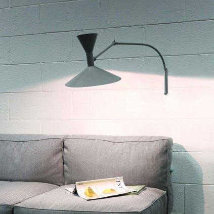 26160 3 nemo mini lampe de marseille cerna nastenna lampa s primym a neprimym svetlem 2x46w e14 max 90cm