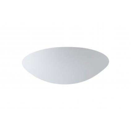 Osmont Aura V5, polovestavné svítidlo z bílého skla, 28W LED 3000K DALI, prům. 49cm, IP44