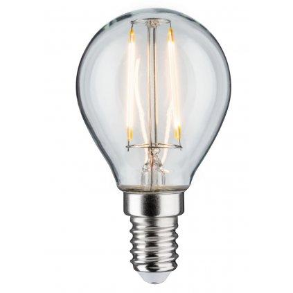 Paulmann, LED žárovka filament, 4,5W LED stmívatelná, E14, výška 7,8cm