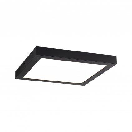 Paulmann Abia, stropní LED svítidlo, 22W 2700K, černá, 30x30cm