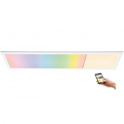 33198 6 paulmann amaris stropni led panel 35w led rgbw zigbee 119 5x29 5 cm