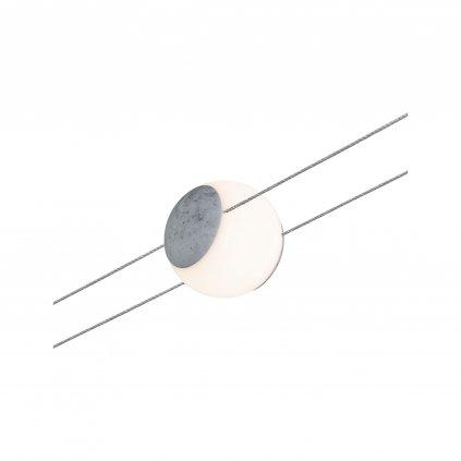 35454 4 paulmann spot lynn spot pro lankovy system 24v 1x4 5w led 2700k beton prum 9 2cm