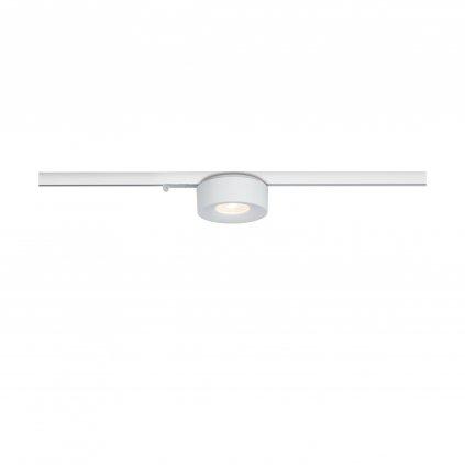 Paulmann downlight Lagu, spot pro NanoRail, 1x6,5W LED 3000K stmívatelné, matná bílá, prům.8,5cm